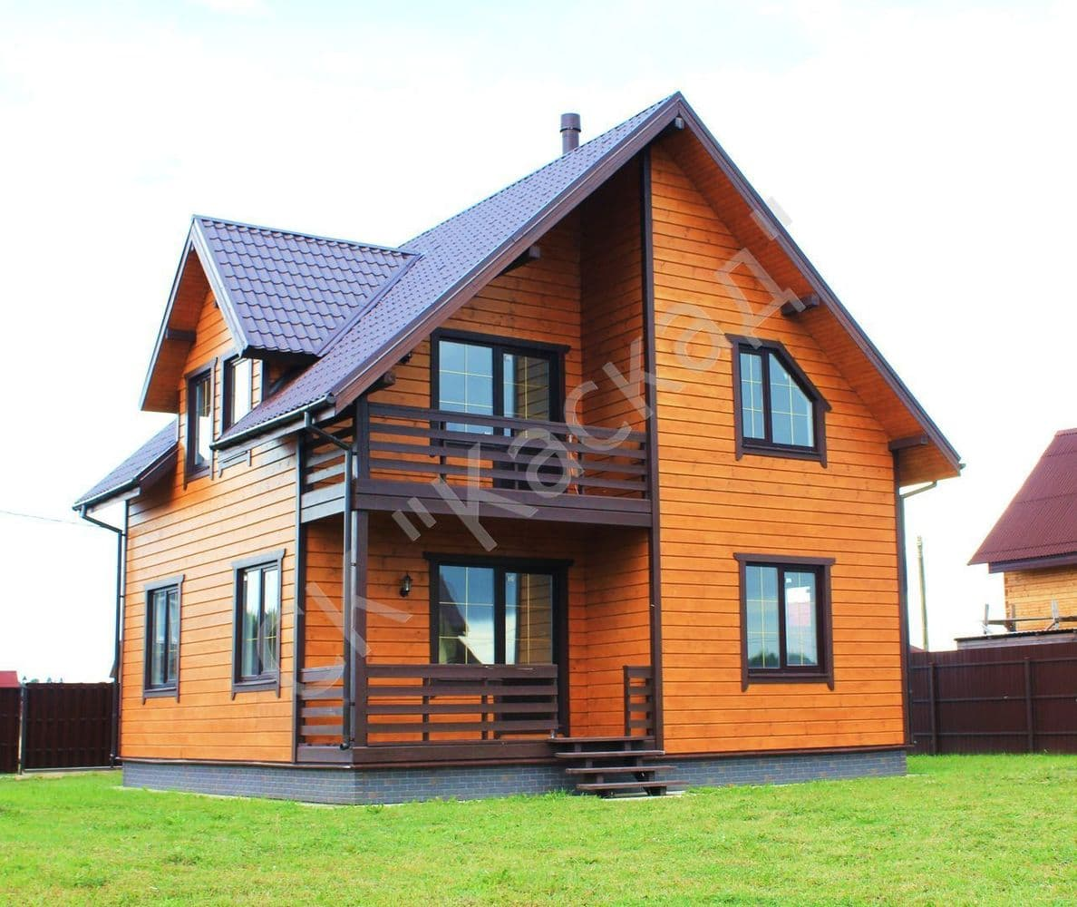 каркасные дома фото цена
