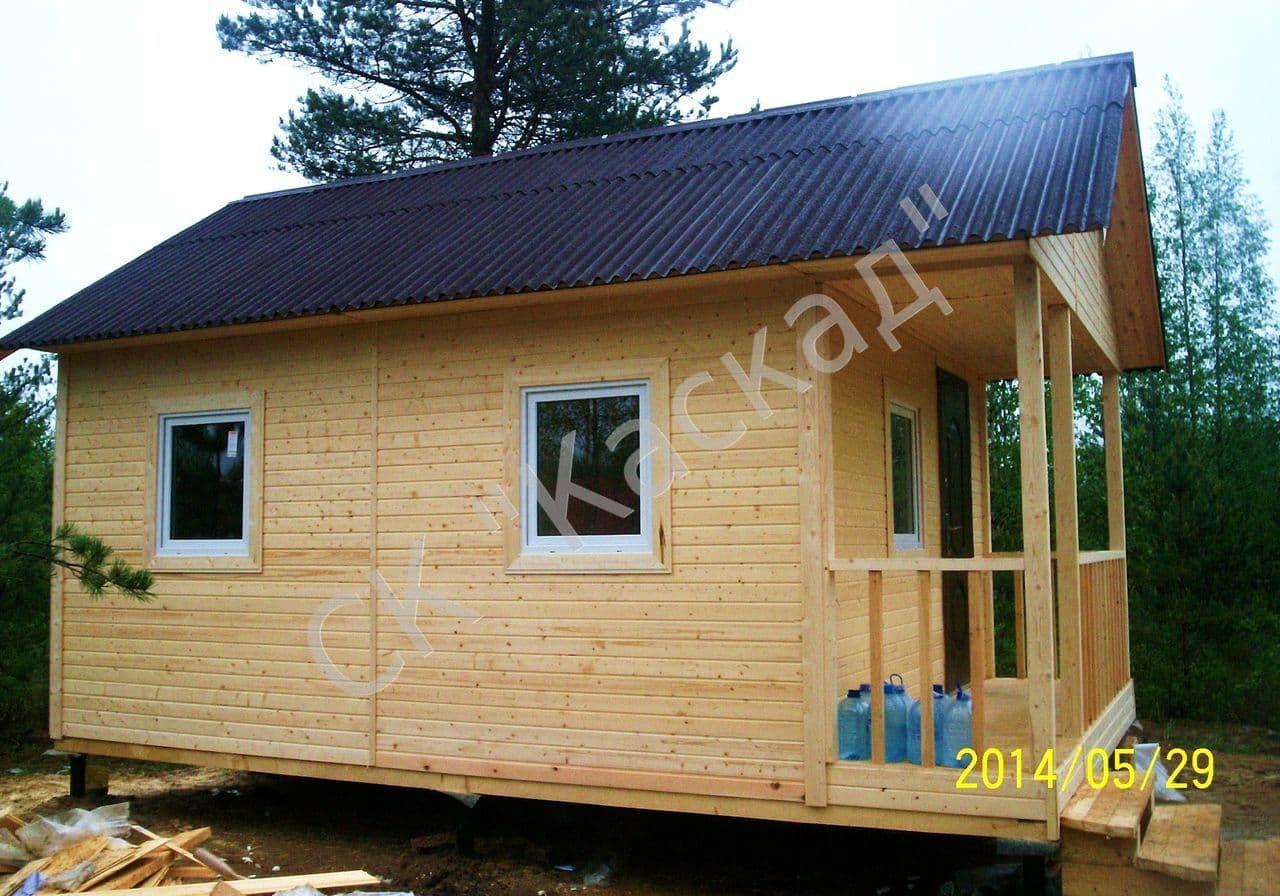 Построить щитовой домик