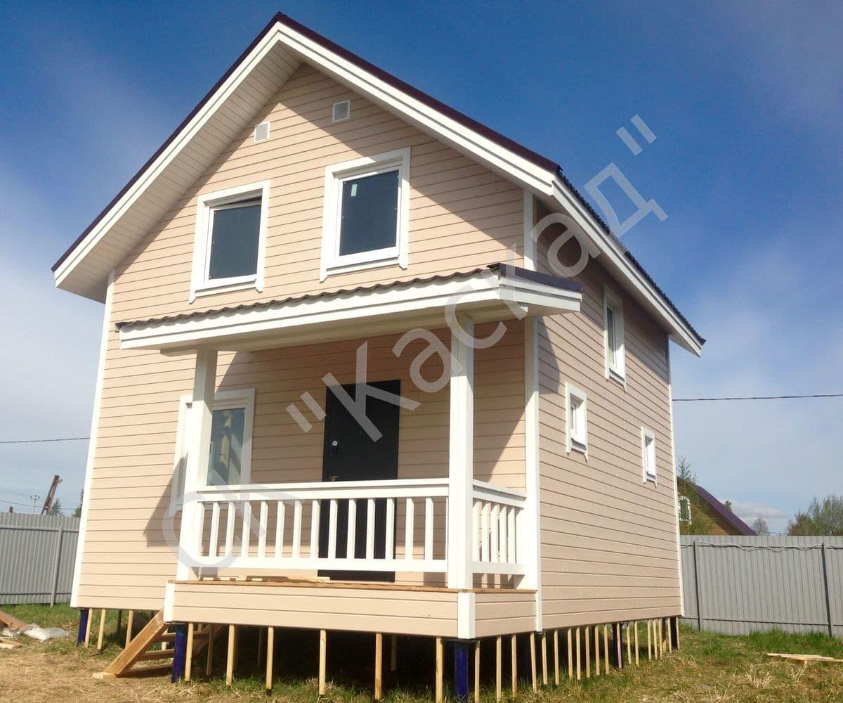 Стоимость строительства каркасного дома 6 на 6