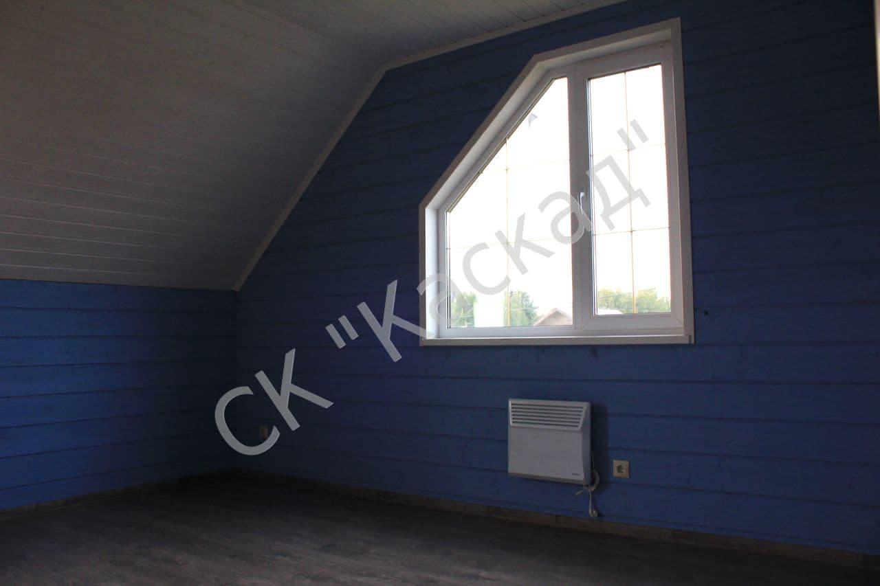Как сделать деревянный дом под покраску